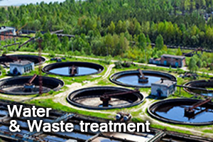 Water  Waste treatment